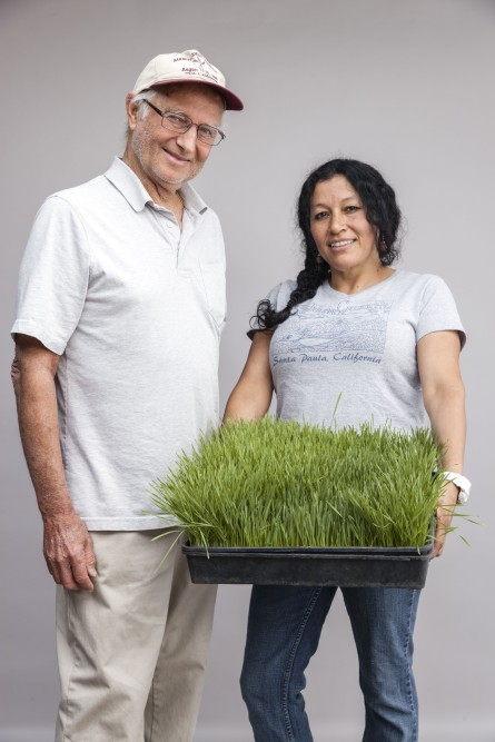 Buddy Barnett and Norma Ortiz, Ojai Microgreens